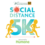 The Village of Wellington Social Distance Virtual 5K 2020, sponsored by Humana