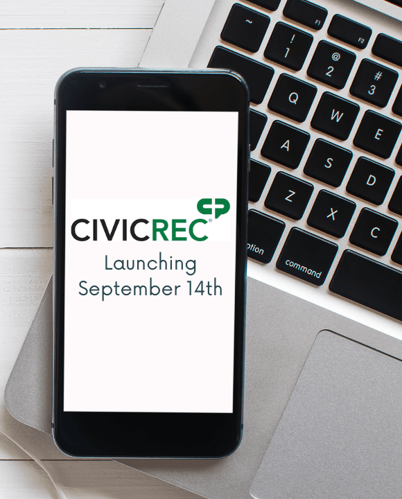 CivicRec Launching September 14th